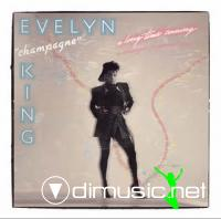 Evelyn 'Champagne' King - A Long Time Coming LP - 1985