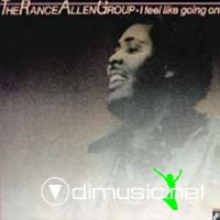 The Rance Allen Group - I Feel Like Goin' On LP - 1980