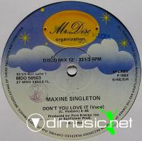 Maxine Singleton - Don't You Love It - 12