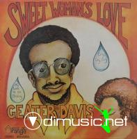 Geater Davis - Sweet Woman's Love LP - 1971