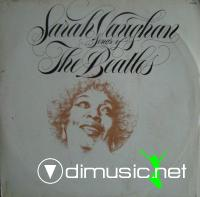 Sarah Vaughan - Songs Of The Beatles LP - 1981