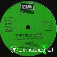 Kwick - I Can't Help Myself - 12