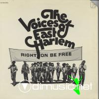 The Voices Of East Harlem - Right On To Be Free LP - 1970