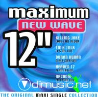 Cover Album of Various - Maximum New Wave 12''