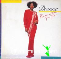 Dionne Warwick - Reservation For Two LP - 1987