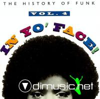 VA - The History Of The Funk: In Yo' Face Vol 4 CD - 1993