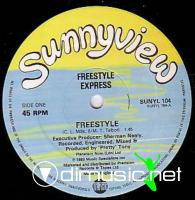 Freestyle Express -Freestyle - 12'' - 1984
