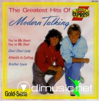 Modern Talking - The Greatest Hits Of Modern Talking (1989-Flac)