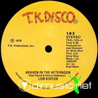 Lew Kirton - Heaven In The Afternoon   - 12'' - 1978