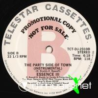 Essence III - Party Side Of The Town - 12'' - 1983