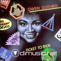 Gwen Guthrie - Ticket To Ride LP - 1987