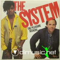 The System - Pleasure Seekers LP - 1985