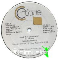 Dwayne Omarr - Save The Children - 12'' - 1985
