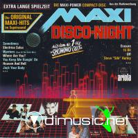 Various - Maxi Disco Night (1987)