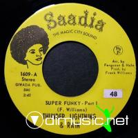 Thunder, Lightning & Rain - Super Funky - 7'' - 1971