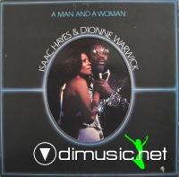Isaac Hayes & Dionne Warwick - A Man And A Woman LP - 1977