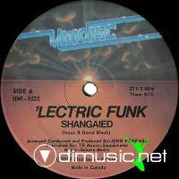 'Lectric Funk - Shanghaied - 12'' - 1979