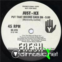 Just-Ice - Latoya - 7'' - 1986