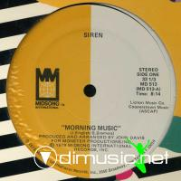 Siren - Morning Music - 12'' - 1979