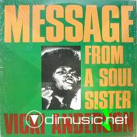 Vicki Anderson - Message From A Soul Sister LP - 2004