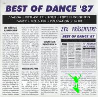 Various - Best Of Dance '87