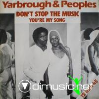 Yarbrough & People - Don't Stop The Music - 12'' - 1980