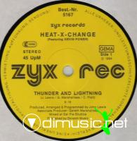 Heat-X-Change - Thunder And Lightning - Single 12'' - 1984