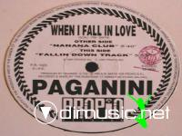 Paganini - When I Fall In Love - Single 12'' - 1994