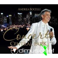 Andrea Bocelli - Concerto One Night In Central Park 2011 CD Original