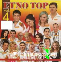 Etno Top vol. 4 CD Original 2011