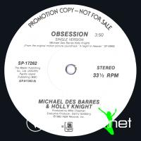 Michael Des Barres & Holly Knight - Obsession (US 12'' Promo)