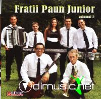 Fratii Paun Junior Vol.2 2011 (CD ORIGINAL)