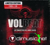 Volbeat - Live From Beyond Hell -Above Heaven 2DVD+CD (2011)