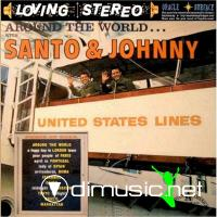Santo & Johnny - Around The World (1962)