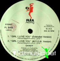 Dandy - Girl I Love You (1990)