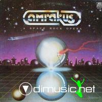 Cover Album of Amrakus - A Space Rock Opera - 1982