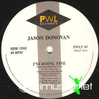 Jason Donovan - I'm Doing Fine (Vinyl,12
