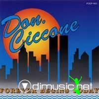 Don Ciccone - Forever Begins Today (CD, Album)