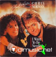Shari Belafonte-Chris Norman – I Want To Be Needed - Single 12'' - 1988