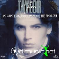 John Taylor - I Do What I Do (The Final Cut) (US 12'')