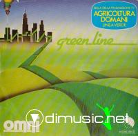 Omni - Green Line / Space Echoes (7'',Vinyl) (1980)
