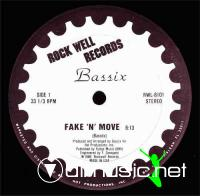 Bassix – Fake 'N' Move- Single 12'' - 1986