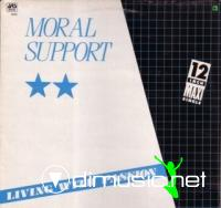 Moral Support – Living With Passion - Single 12'' - 1983