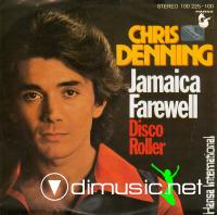 Chris Denning – Jamaica Farewell - Single 7'' - 1978