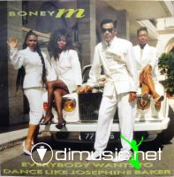 Boney M. – Everybody Wants To Dance Like Josephine Baker - Single 12'' - 1989
