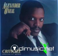 Alexander O'Neal - Criticize - Single 12'' - 1987