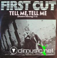 First Cut - Tell Me, Tell Me (Shadow Dancing) - Single 12 - 1986