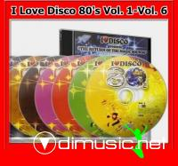 Various - I Love Disco 80's Vol. 1 - Vol. 8