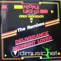 People Like Us  Feat. Cindy Dickinson – Deliverance-Midnight Lover (The Remixes) - Single 12''-  1986