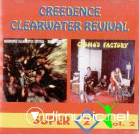 Creedence Clearwater Revival - Bayou Country/Cosmo's Factory (1969/1970)